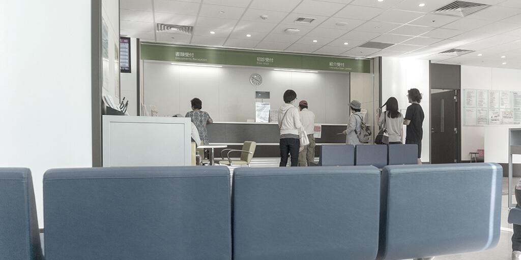待合室や診療室での「三密」を避けるような衛生的なクリニック